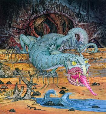 Glaurung autorstwa Rogera Garlanda