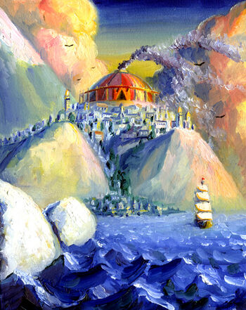 """Armenelos the golden"" – autorstwa Jefa Murraya."
