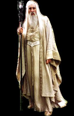 """Saruman w filmowej adaptacji <!--LINK'"""" 0:0-->"""