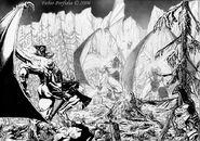 Last battle of Feanor by randolfo