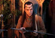 Елронд з Оркристом в руках