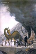 TN-Finduilas is Led Past Turin at Nargothrond