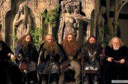 Гномы Эребора на Совете у Элронда