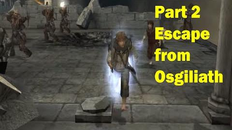 LotR Return of the King - Walkthrough Game - Escape from Osgiliath - Part 2