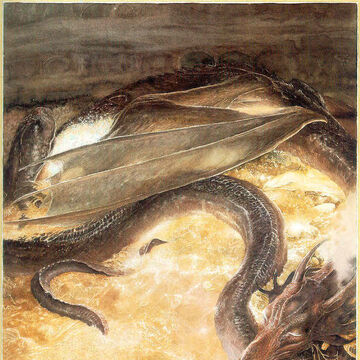 the hobbit kingdoms of middle earth dragons gold