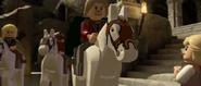 Lego lotr two towers screenshot