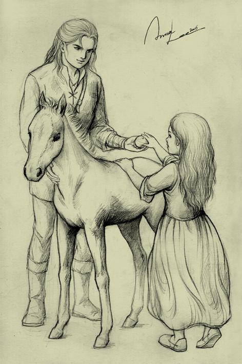 Anna Lee - Young Éomer and Éowyn.jpg