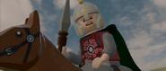 Lego lotr Eomer on horse