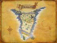 Zirakzigil map - LOTRO