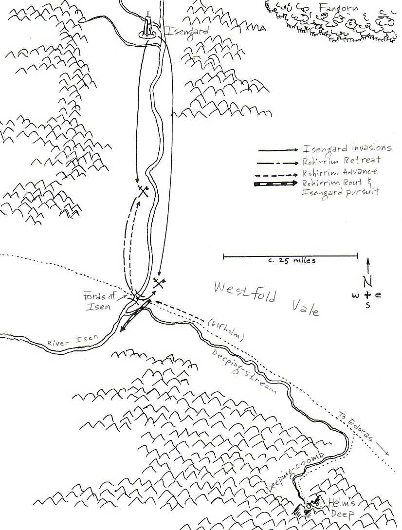 Battles of the Fords of Isen