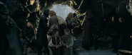 Sam and Frodo captives
