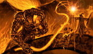 Balrog and gandalf by kirocomic-d24gwt6