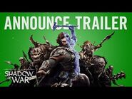 Official Shadow of War Announce Trailer