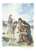 Маедрос та Маглор з Елрондом і Елросом