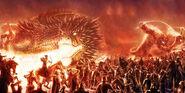 Battle of Sudden Flame by JovanDarkArt-dec6b0a