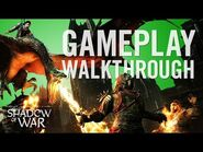 Official Shadow of War Gameplay Walkthrough