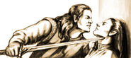 Feanor and Fingolfin by Tuuliky - dcfg