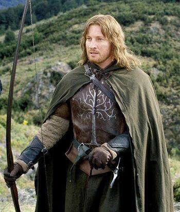 Faramir w filmowej adaptacji Petera Jacksona.