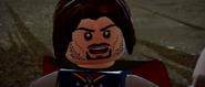 Lego lotr Aragorn at the Black gate