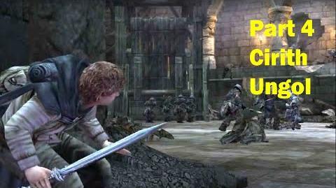 LotR Return of the King - Walkthrough Game - Cirith Ungol - Part 4