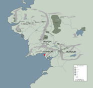 DOL AMROTH location map in middle earth