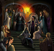 The royal court of thingol by steamey-d5zjcwa