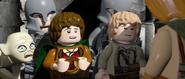 Lego lotr two towers screenshot 2