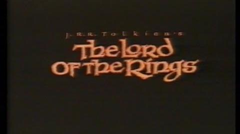 The Lord Of The Rings (1978) Trailer