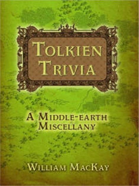 Tolkien Trivia (book)