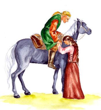 Riana i Huor - autorstwa Marii Filatovej