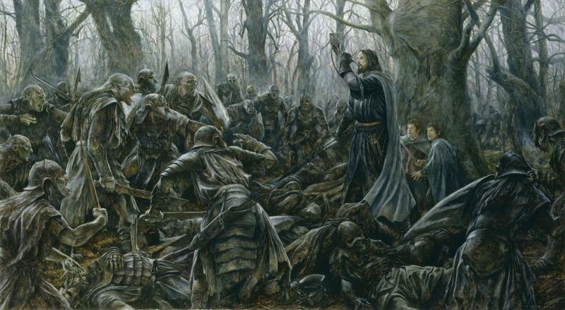 Skirmish at Amon Hen