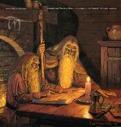 Ted Nasmith — Gandalf and Thorin at Bree