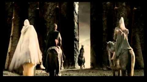 Вырезанные эпизоды из Властелина колец Арагорн против Саурона