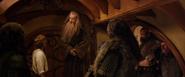 The Hobbit-Unexpected Journey-Bilbo Baggins, Gandalf and Dwarves