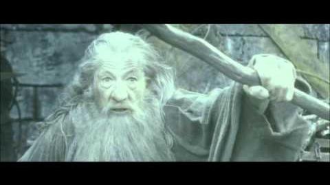 Hobbit Pustkowie Smauga - Gandalf kontra Sauron (HD)