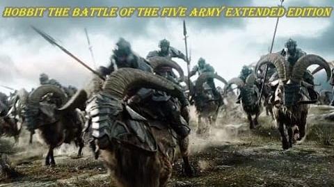 """Сцены из расширенной версии """"Хоббит.Битва пяти воинств""""."""