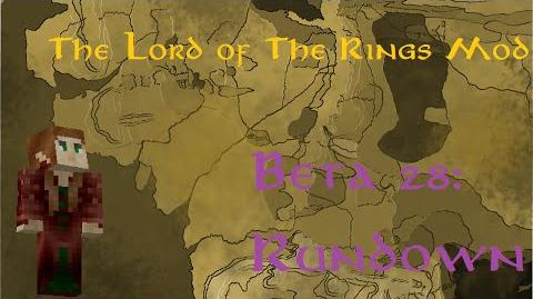 Minecraft The Lord of The Rings Mod- Beta 28 Rundown
