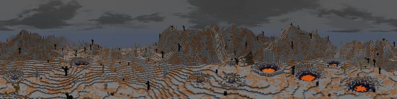 Panorama Far Harad Volcano