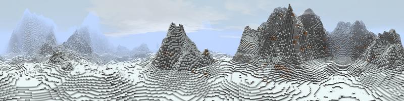 Panorama Misty Mountains