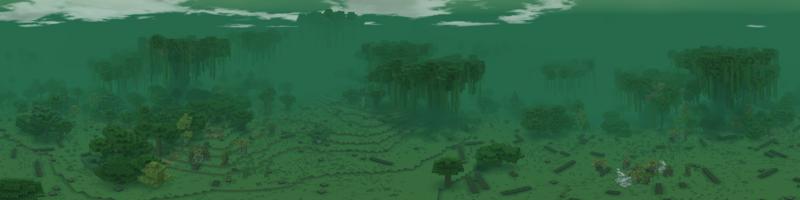 Panorama Fangorn Clearing