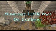 Oil Cauldron Siege Machine Trailer- LOTR Survival LOTR Mod Minecraft Server
