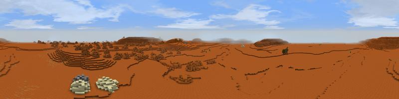 Panorama Red Desert