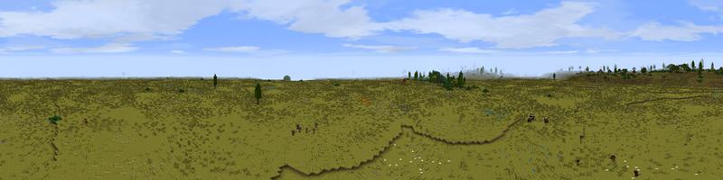 Panorama Rhúdel Steppe