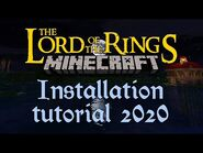 Installing the Minecraft Lord Of The Rings Mod in 2020