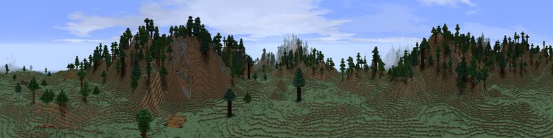 Panorama Iron Hills