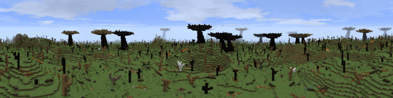 Panorama Fangorn Wasteland
