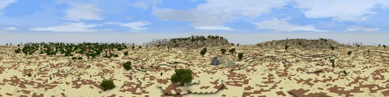 Panorama Half-deserts