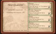 4 of 5 Wood-elven Kill Quests