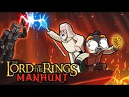 Manhunt LORD OF THE RINGS! (Speedrunner vs Hunter)