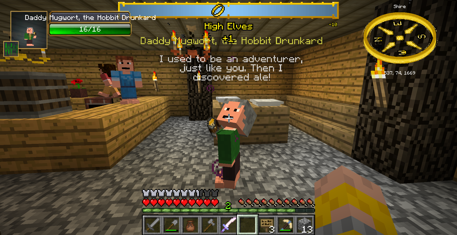Beauhunt III/Drunken Hobbits